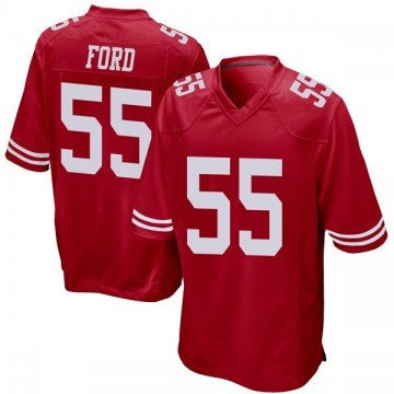 Youth Dee Ford San Francisco 49ers Nike Game Team Color Jersey - Red