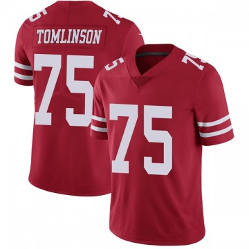 Youth Laken Tomlinson San Francisco 49ers Nike Limited Team Color Vapor Untouchable Jersey - Red